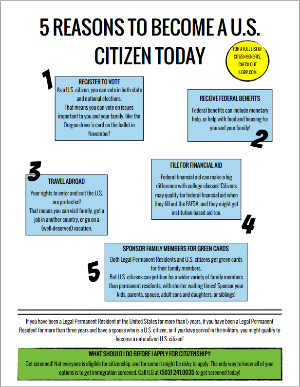 Why should I become a U.S. citizen?