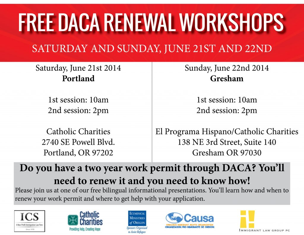 daca renewal workshop flyer english