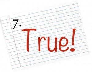 true 7